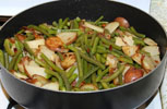 Green Beans With Bacon and Potatoes