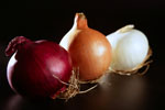 Three Varieties of Onions