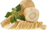 Parsnips Whole and Slic