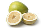 Pomelo Whole and Halves