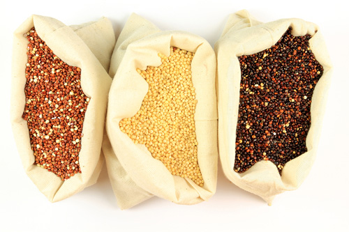 Three Colors of Quinoa