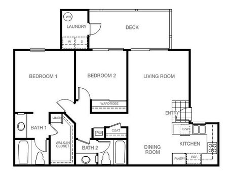 Monarch coast apartments in dana point adjacent to laguna for Monarch homes floor plans