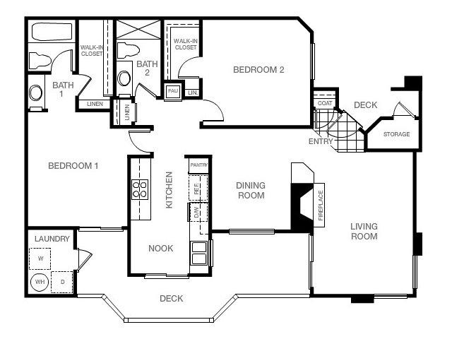 Monarch coast apartments in dana point adjacent to laguna for Malibu house plans